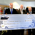 Miller Brothers Contributes $5,000 to Linwood